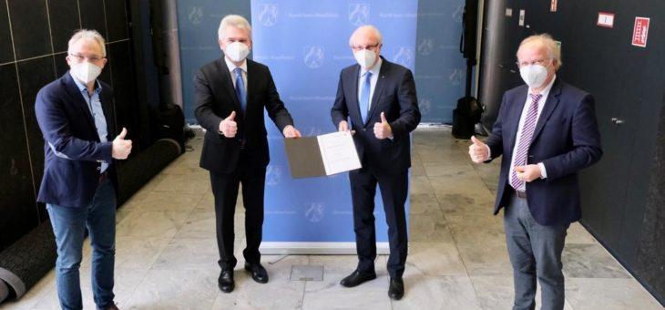 Bochum erhält 8,4 Millionen Euro für den Bau des neuen Technologie- und Gründerzentrums Ruhr