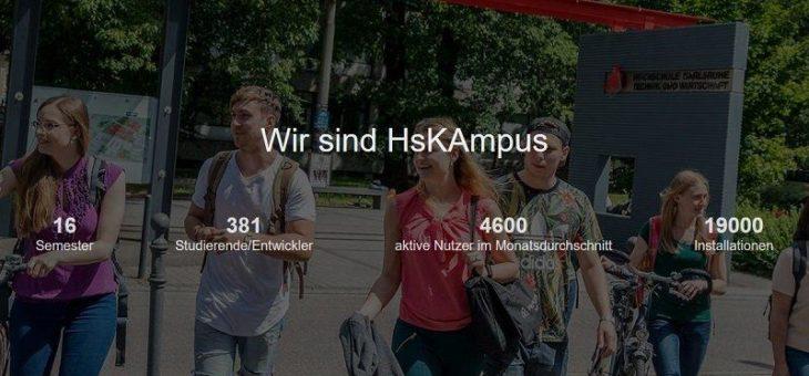 Die Studierenden-App HsKAmpus wagt den Vergleich mit UniNow