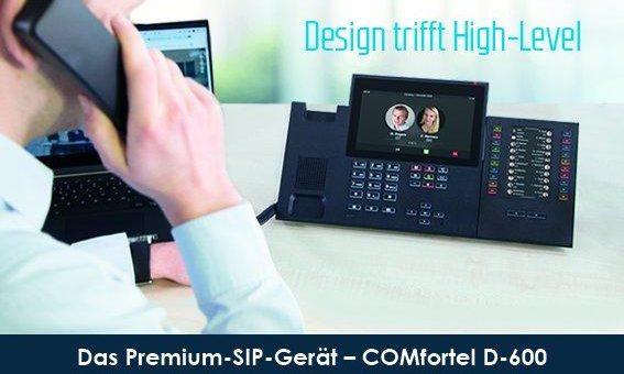 Design trifft High Level: Auerswald präsentiert COMfortel D-600