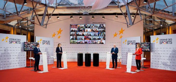 """Spannung bei der Verleihung """"Sterne des Sports"""" in der AXICA"""