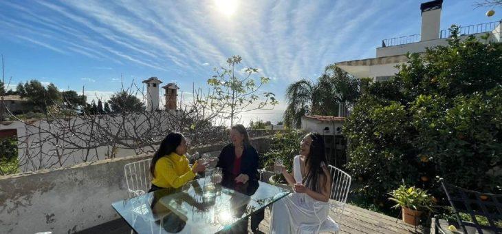 Mallorca im Winter 2020/21: Die Villa TORRE BLANCA öffnet die Türen für kreative Köpfe