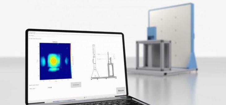 Erweiterung für Automotive Radome Tester von Rohde & Schwarz ermöglicht Materialreflexionsmessungen mit neuer Präzision