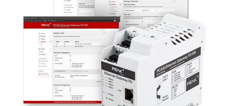 CAN-FD-Anbindung per Ethernet