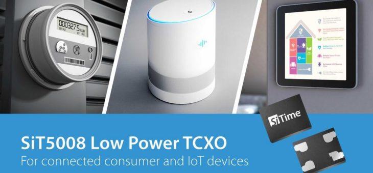 SiTime präsentiert 26 MHz TCXO für IoT-Anwendungen