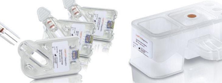 Gerresheimer entwickelte Testcartridge und Reagentblock für ein innovatives Blutanalysegerät