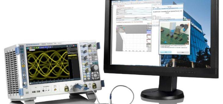 Erste Trigger- und Dekodierlösung für 1000BASE-T1 in Automotive-Ethernet-Anwendungen von Rohde & Schwarz