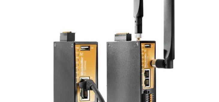 Weidmüller Multifunktionsgateway: IoT Gateway 30 – 4G/LTE Modem für flexible Mobilfunkanbindung