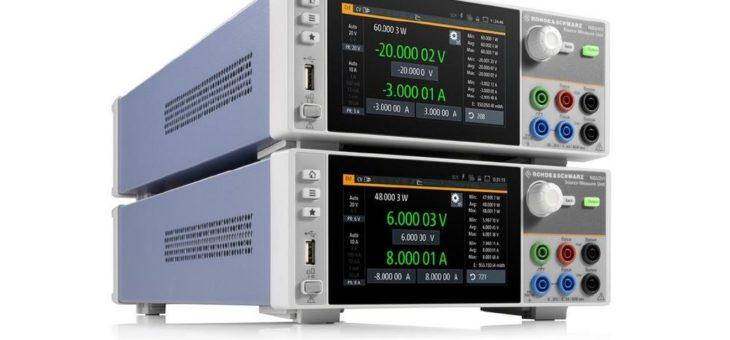 Rohde & Schwarz betritt mit dem neuen R&S NGU den Markt für Source Measure Units