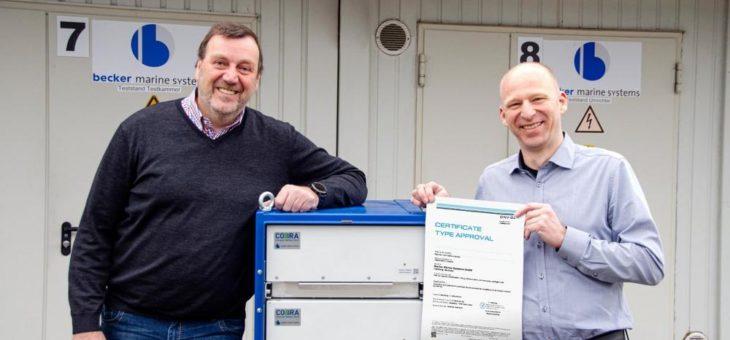 COBRA Batteriesystem von Becker Marine Systems erhält DNV GL Zertifikat