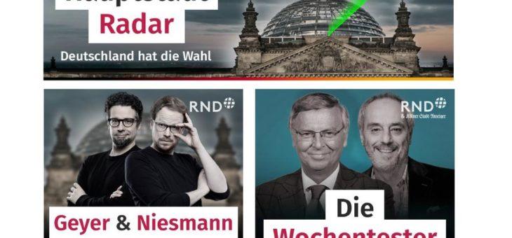 Investigativteam, Personal, Formate: Hauptstadtbüro des  RedaktionsNetzwerks Deutschland (RND) stellt sich neu auf