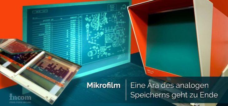 Mikrofilm: Eine Ära geht zu Ende