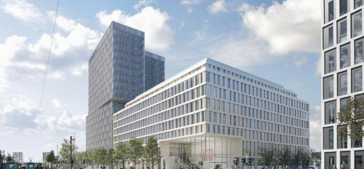 GA-tec baut die Elektrotechnik für den F.A.Z. Tower in Frankfurt