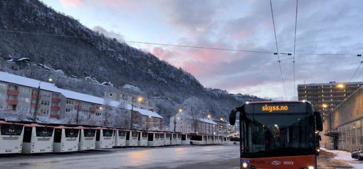 SaaS-Elektromobilitäts-Lösung für Keolis Norway