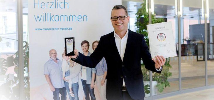 Deutscher Servicepreis 2021: Münchener Verein bleibt der Service-König