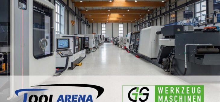 G+S Werkzeugmaschinen ist jetzt Händler in der Tool-Arena