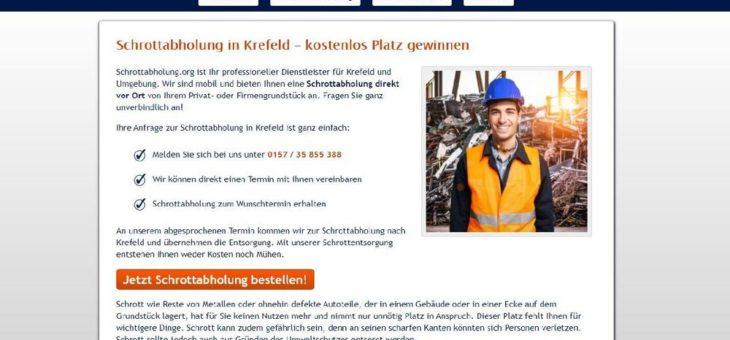 Zuverlässiger und unkomplizierter Altmetallabholung in Krefeld