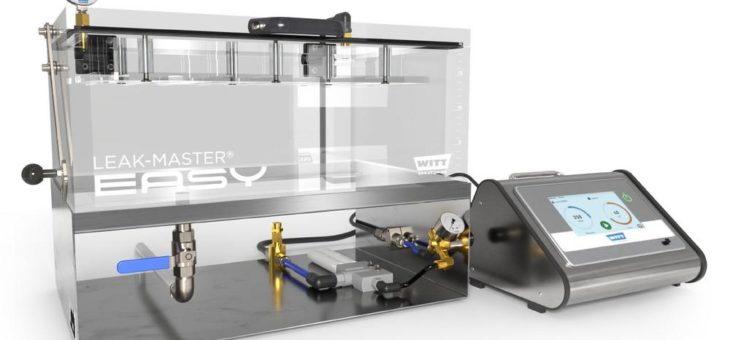 Neuer Leak-Master® Easy Plus erfreut den Qualitätsprüfer