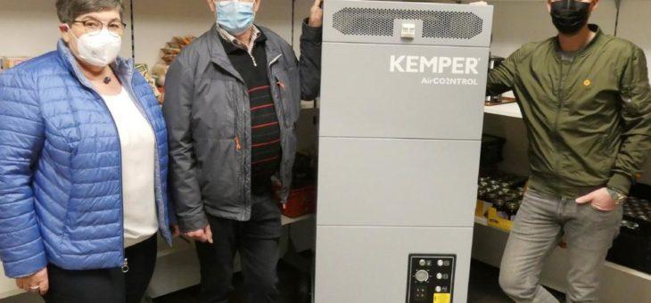 Sicherer Neustart: Vredener Tafel nimmt Betrieb dank KEMPER-Luftreiniger ohne Virengefahr auf