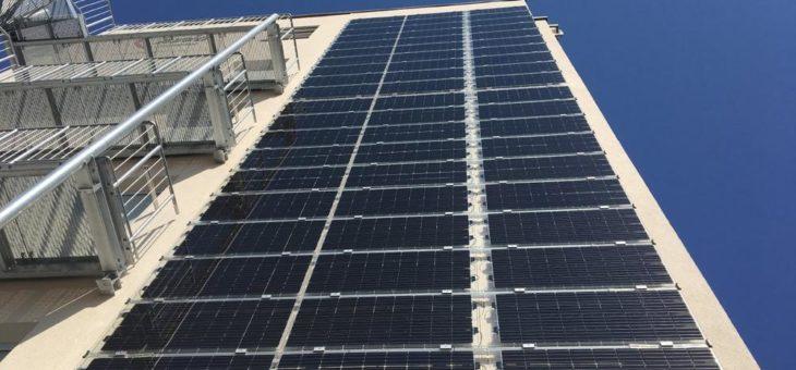 Solar an der Fassade – geht das?