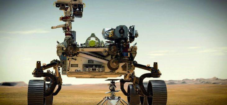NASA Mars-Rover Perseverance gelandet