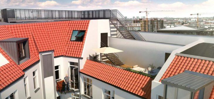hedera startet Vertrieb für Dachgeschosswohnungen im BO am Boxhagener Platz