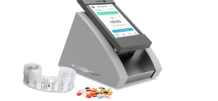 Digitaler Tablettendispenser auf App- und Cloudbasis