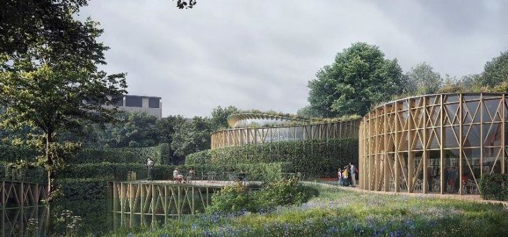 Japanischer Stararchitekt Kengo Kuma gestaltet  spektakulären Museumskomplex