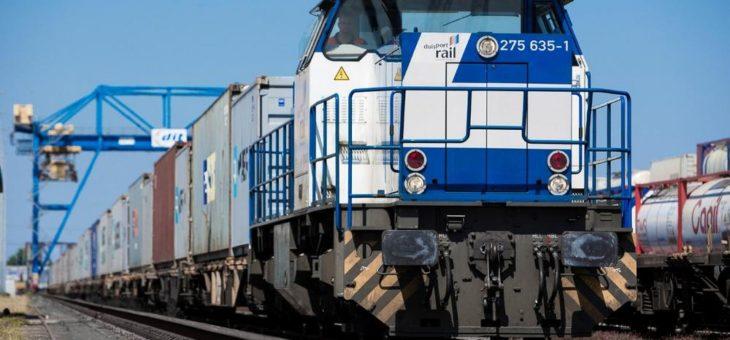 Klimaschutz: Vorstudie für Wasserstoffrangierlokomotive im Duisburger Hafen