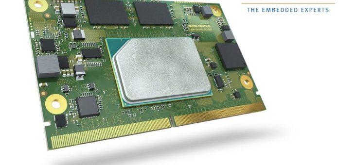 DATA MODUL präsentiert eigenes SMARC Modul auf Basis der neuesten Intel Atom x6000E Prozessoren