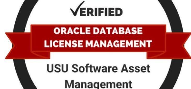 USU erhält Lizenzmanagement-Zertifizierung für Oracle-Datenbanken von ITAM Review