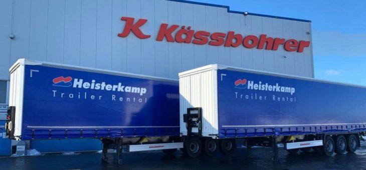 Die Partnerschaft von Kässbohrer und Heisterkamp hat sich mit 100 neuen Fahrzeugen in Spanien erweitert