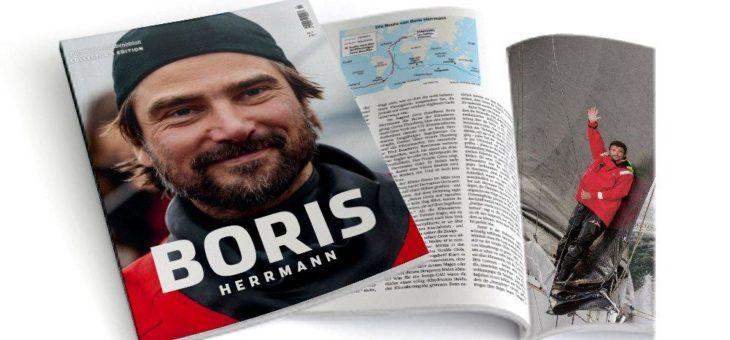 """Collector's Edition """"Boris Herrmann"""" – Hamburger Abendblatt ehrt einzigartige Leistung des Seglers mit eigenem Magazin"""