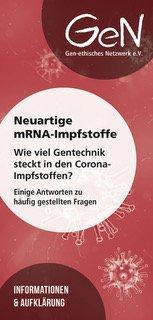 Neuartige mRNA-Impfstoffe