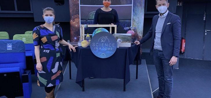 Science in a Dome – Zweite Staffel des E-Learning-Angebots online