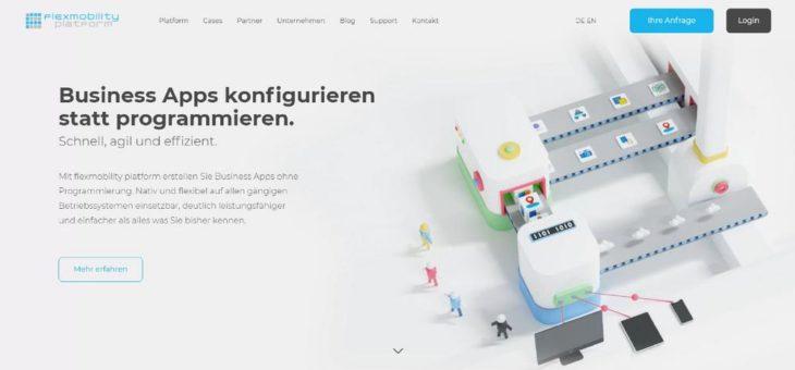 Neuer Internetauftritt für flexmobility platform