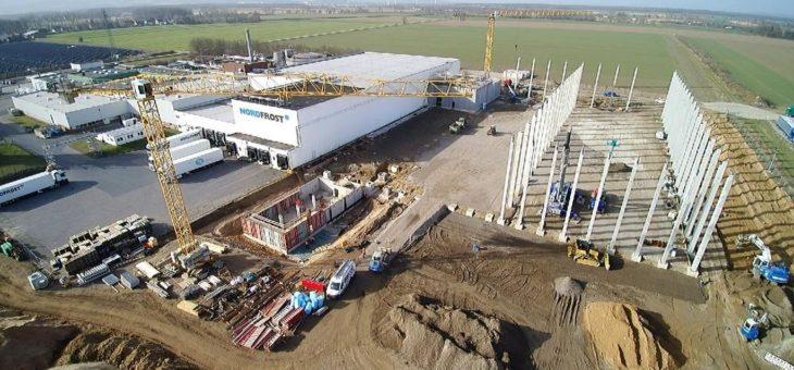 NORDFROST-Logistikzentrum Barsinghausen wächst