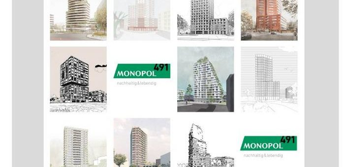 Städtebaulicher Realisierungswettbewerb für monopol491 entschieden