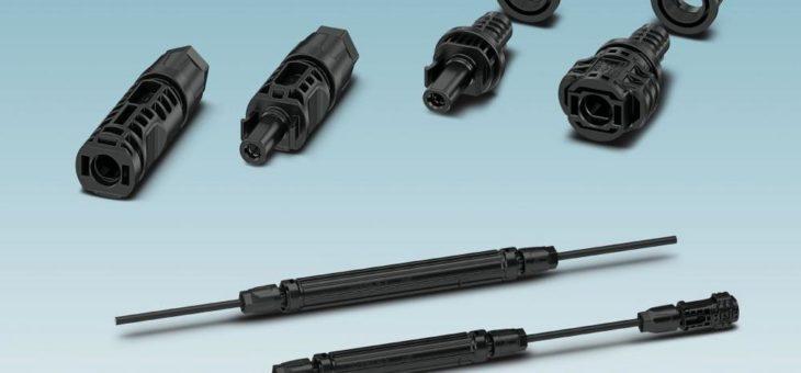 Neue Steckverbinder für Photovoltaik