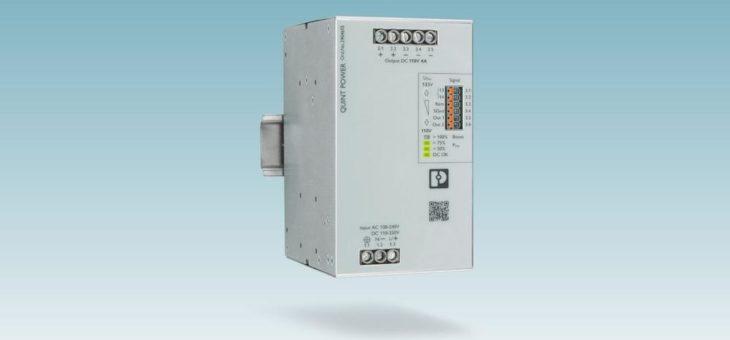 Leistungsstarke Stromversorgung mit 110 V DC