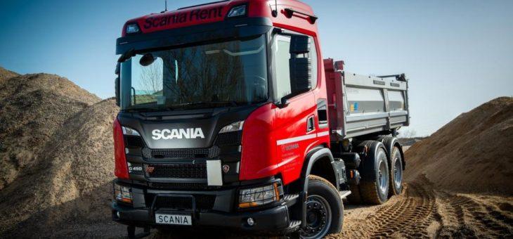 Scania Rent erhöht Kipper-Angebot