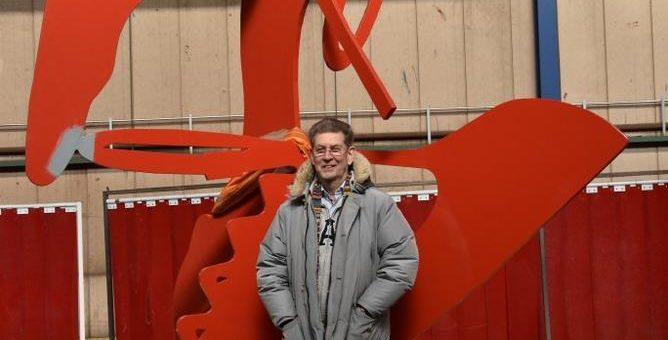 RED HEELS – eine Skulptur von Heiner Meyer für die LUDWIGGALERIE Schloss Oberhausen im Rahmen der Ausstellung