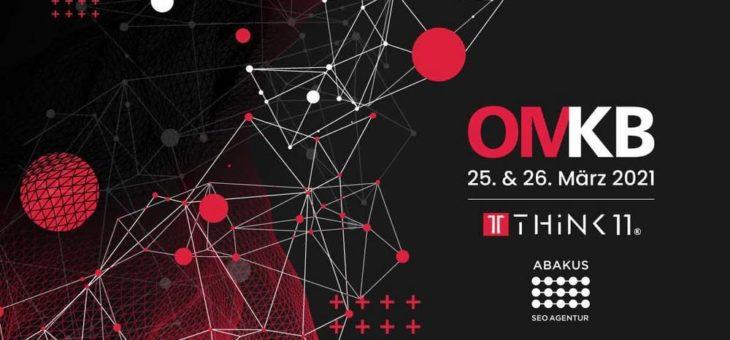 ABAKUS Internet Marketing GmbH offizieller Partner des Digital-Marketing-Events  OMKB 2021