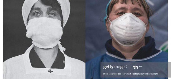 """""""History Repeats"""" Kampagne: Havas München und Getty Images zeigen, wie sich die Geschichte der Menschheit wiederholt"""