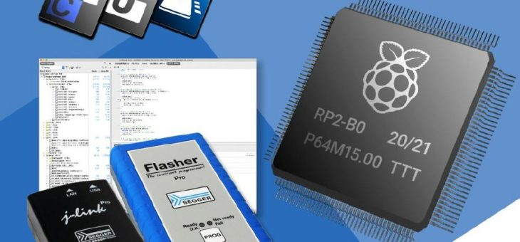 SEGGER J-Link, Flasher und Embedded Studio unterstützen den Raspberry Pi RP2040