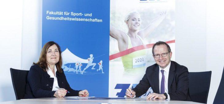 BLSV und TUM arbeiten für die Zukunft des Sports zusammen