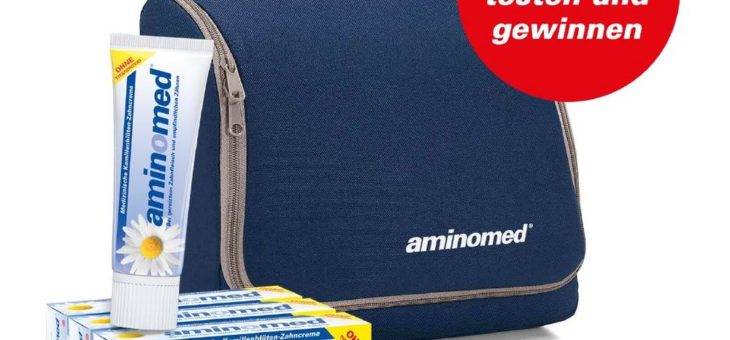 Optimierte Aminomed testen und gewinnen!