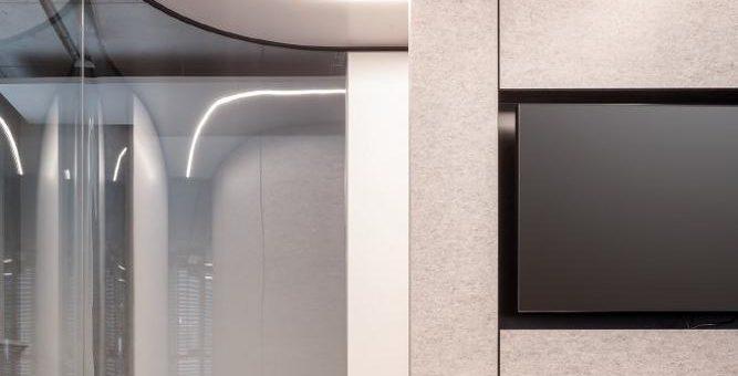 Cube Open statt Open Space sorgt sogar ohne Tür für angenehme Akustik und Privatsphäre
