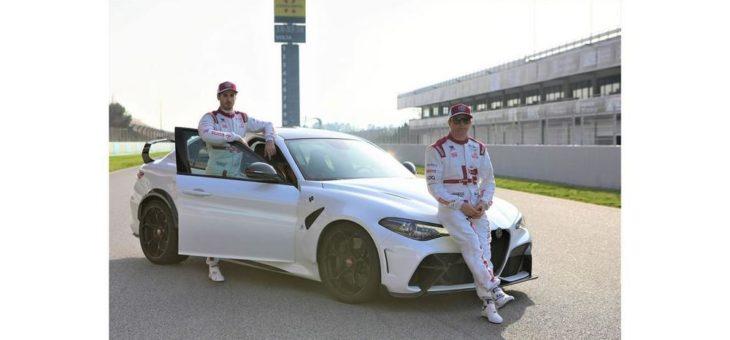 Alfa Romeo Giulia GTA beim Auftakt zur Formel-1-Weltmeisterschaft dabei