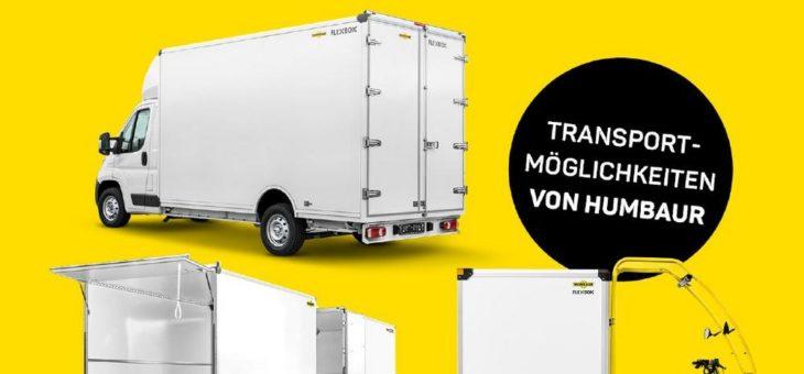 Wenn es schnell gehen muss – Humbaur Transportlösungen für Kurier-, Express- und Paketdienste