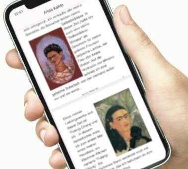 """Frida Kahlo Ausstellung """"Meine Geheimnisse"""" jetzt als APP in Apple Store und Google Play verfügbar"""
